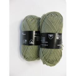 Bomuldsgarn grågrøn fv. 128