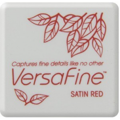 Versafine inkpad, Satin Red