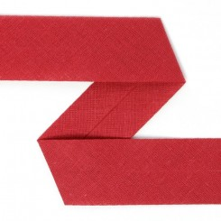 Skråbånd rød 6 cm x 1 meter