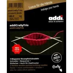 Strømpepinde Addi Crasy Trio 2,5 mm