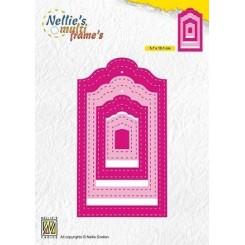 Stitched tag dies,  Nellie Snellen