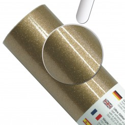 Ultra Glitter gold vinyl 30,5 cm x 1 M