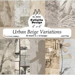 Urban Beige variations 15 x 15 cm