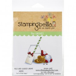 Milck and Cookies Gnome stempel