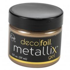 Deco foil, metallix gel gold