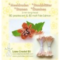 Blomster drager Pearl / Mat Laks