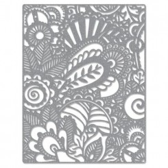 Doodle art background dies, Sizzix