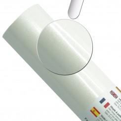 Ultra glitter vinyl Hvid, 30,5 cm x 1 M