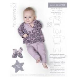 Minikrea babysæt & sko 11420