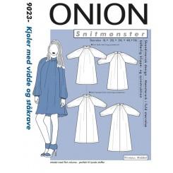 Onion snitmønster 9023 Kjole