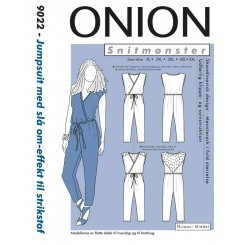 Onion snitmønster 9022 buksedragt