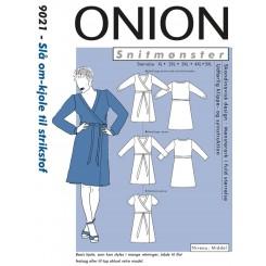 Onion snitmønster 9021 Kjole