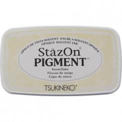 StazOn pigment ink, snowflake