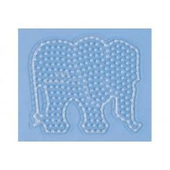 Maxi perleplade Elefant
