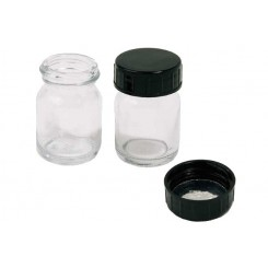 glass jar with lid, til lille airbrush