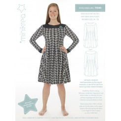 Minikrea kjole mønster 70046