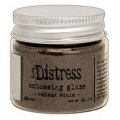 Embossing glaze Walnut stain
