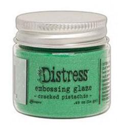 Embossing glaze Cracked pistachio