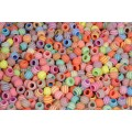 Perler med striber 40 g plast