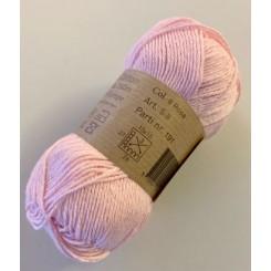 Øko bomuld fv. 8 rosa