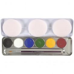Sminkepalet 6 farver