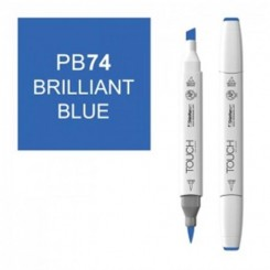 Brilliant Blue TOUCH brush twin