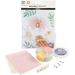Mini creative kit Sommerfugle sjov