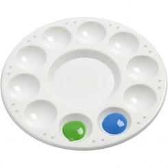 Rund palette 17 cm diameter