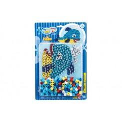 Maxi perle delfin + plade