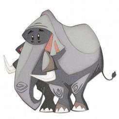 Elefant dies, Tim Holtz