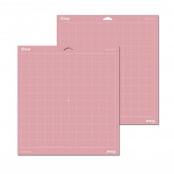 Cricut 2 stk pink skæremåtte til stof