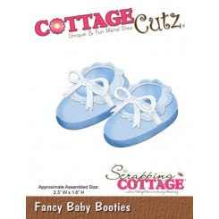CottageCutz Baby Booties dies