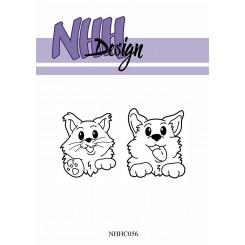Vovse og kat stempel, NHH Design
