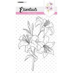 Blomster stempel A5, StudioLight