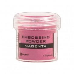 Magenta / Pink embossing pulver, Ranger