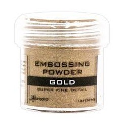 Gold embossing pulver, Ranger