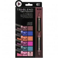Tri-blend Jewel  Markers 18 farver