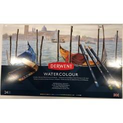 Watercolour professional quality sæt 24 stk