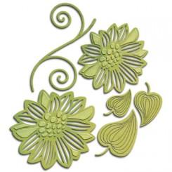 Shapabilities blomster dies S4-533