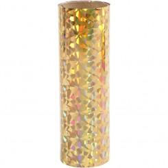 Dekorations folie guld, 15,5 x 50 c