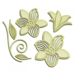 Shapabilities blomster dies S4-534