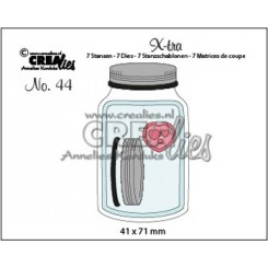 Mason Jar middle / sylteglas dies