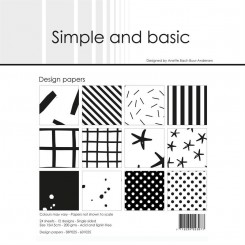 Simple and basic paper SBP025