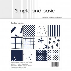 Simple and basic paper SBP023