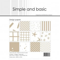 Simple and basic paper SBP024