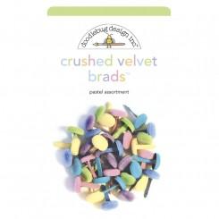 Crushed Velvet Brads Doodlebug
