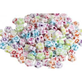 Perler 9 mm med bogstaver Ø:2 mm