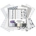 Grey designer blok 30 x 30 cm, NHH