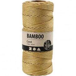 bamboo snor guld 1 mm x 65 M