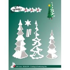 Juletræer dies by Lene 2020